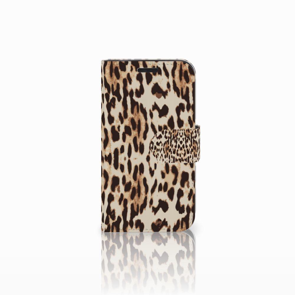 LG K4 Uniek Boekhoesje Leopard
