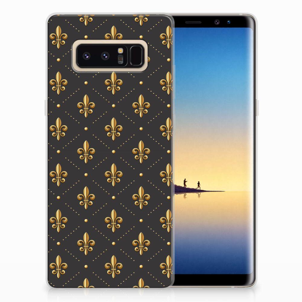 Samsung Galaxy Note 8 TPU bumper Franse Lelie