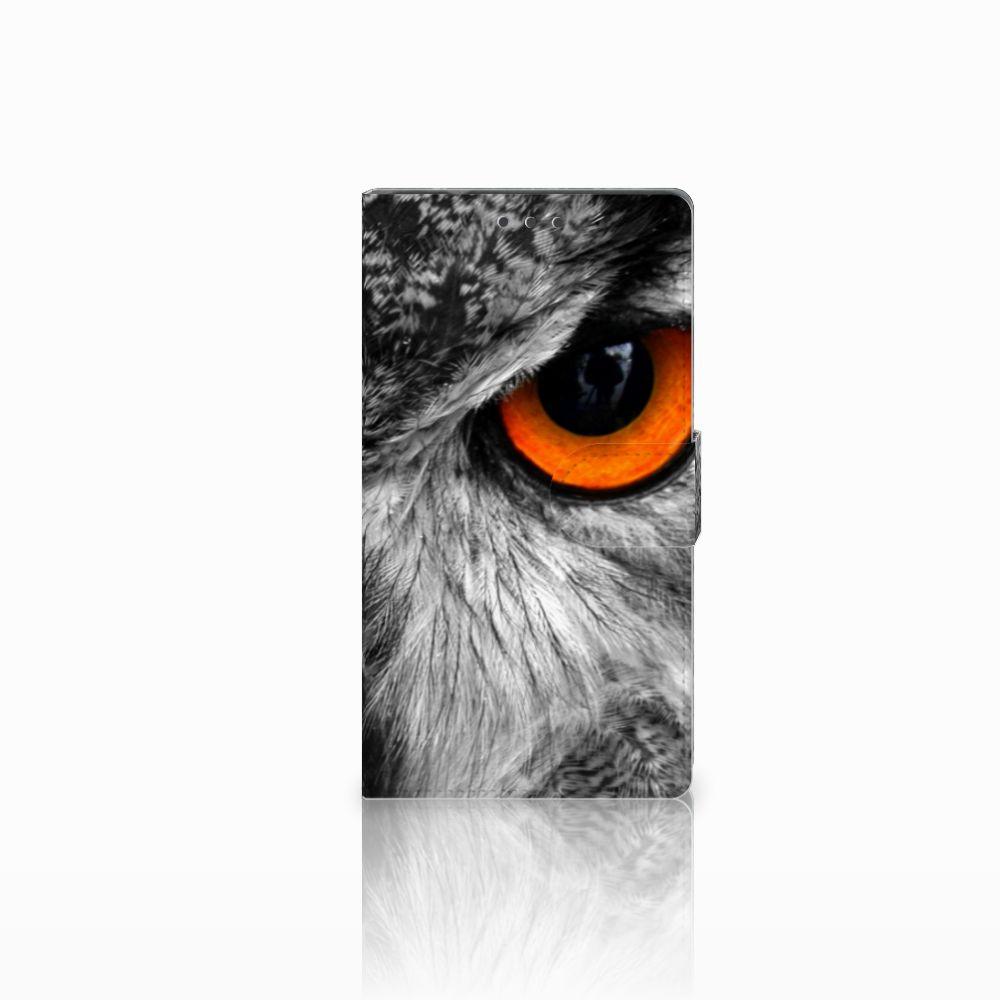 Samsung Galaxy Note 4 Boekhoesje Design Uil