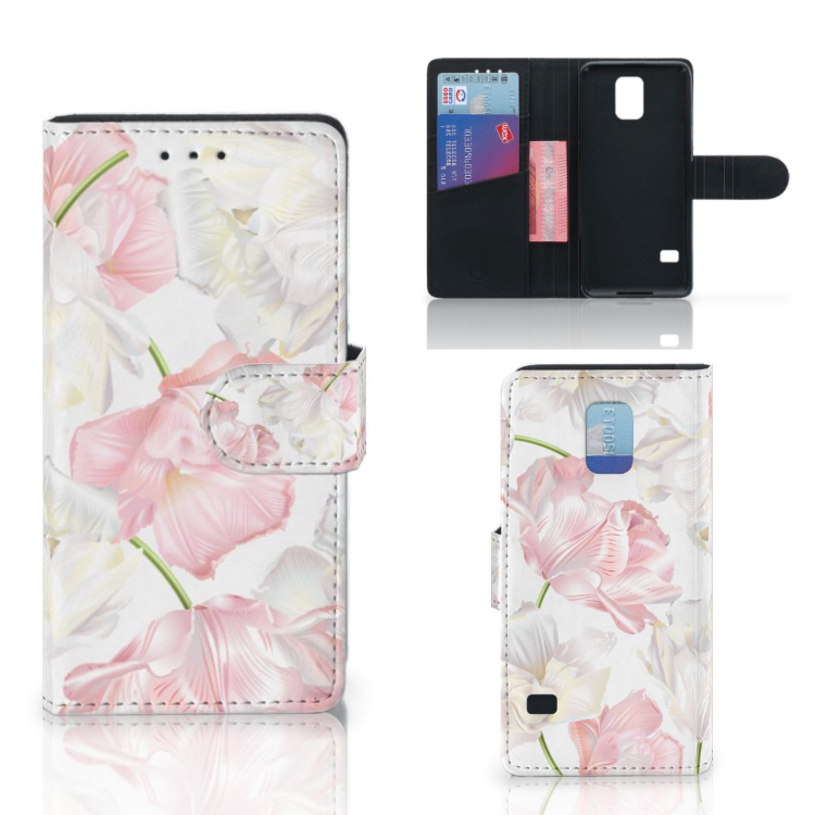 Samsung Galaxy S5 | S5 Neo Hoesje Lovely Flowers