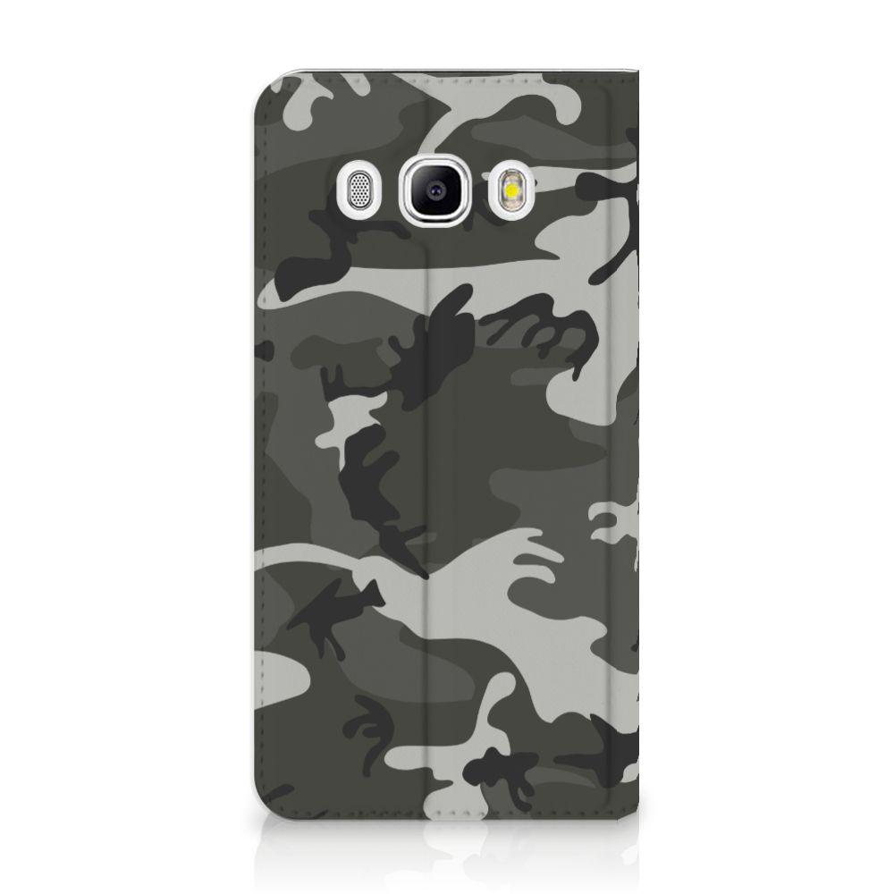 Samsung Galaxy J5 2016 Uniek Standcase Hoesje Army Light