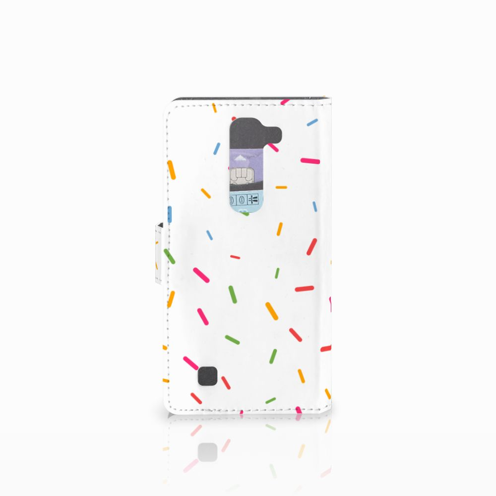 LG Magna | G4C Book Cover Donut Roze