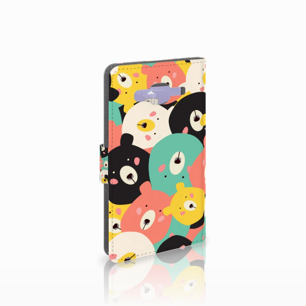 Samsung Galaxy J5 (2015) Uniek Boekhoesje Bears