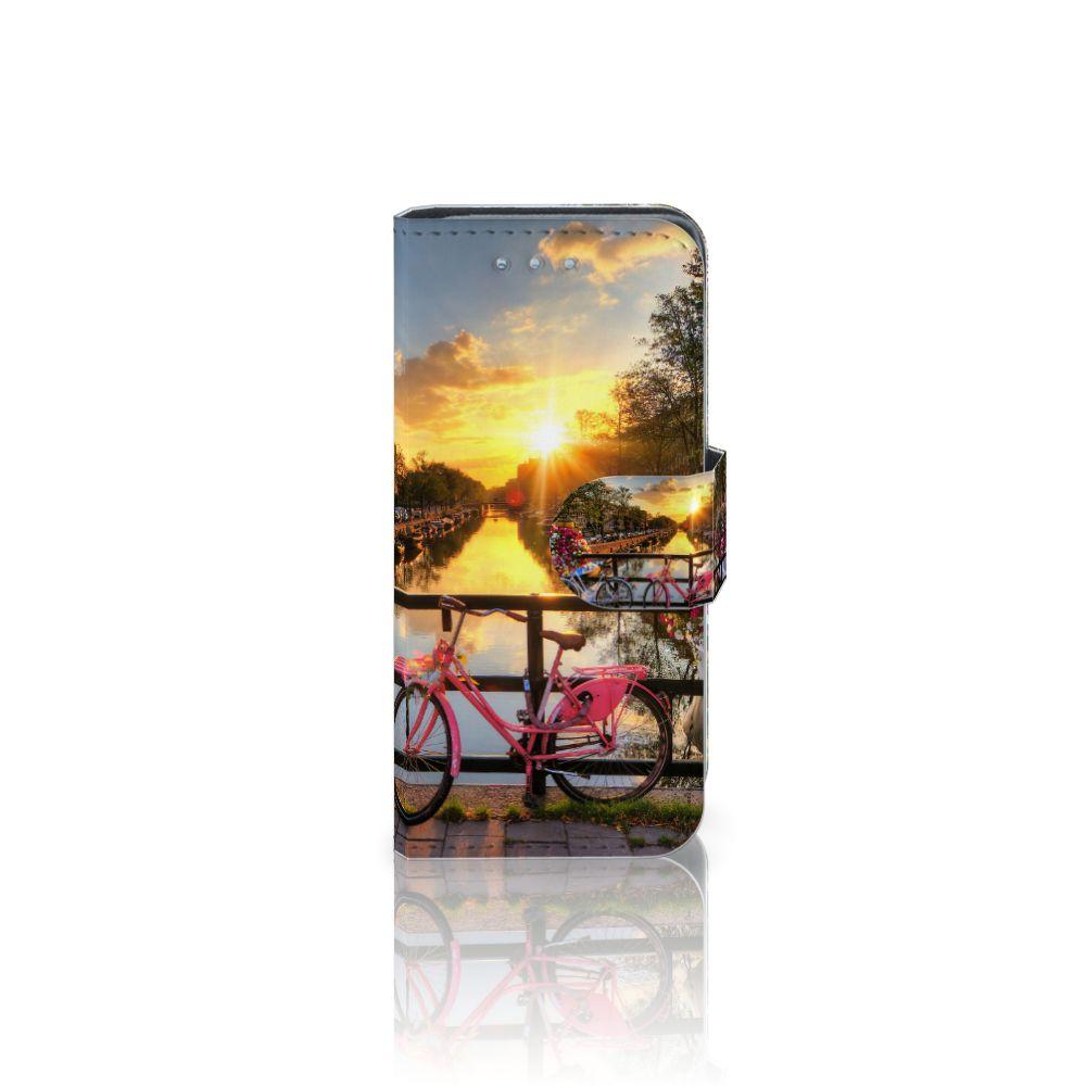 Samsung Galaxy S4 Mini i9190 Uniek Boekhoesje Amsterdamse Grachten
