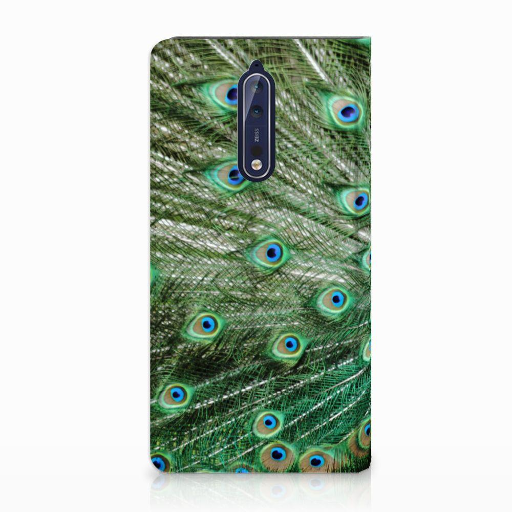 Nokia 8 Standcase Hoesje Design Pauw