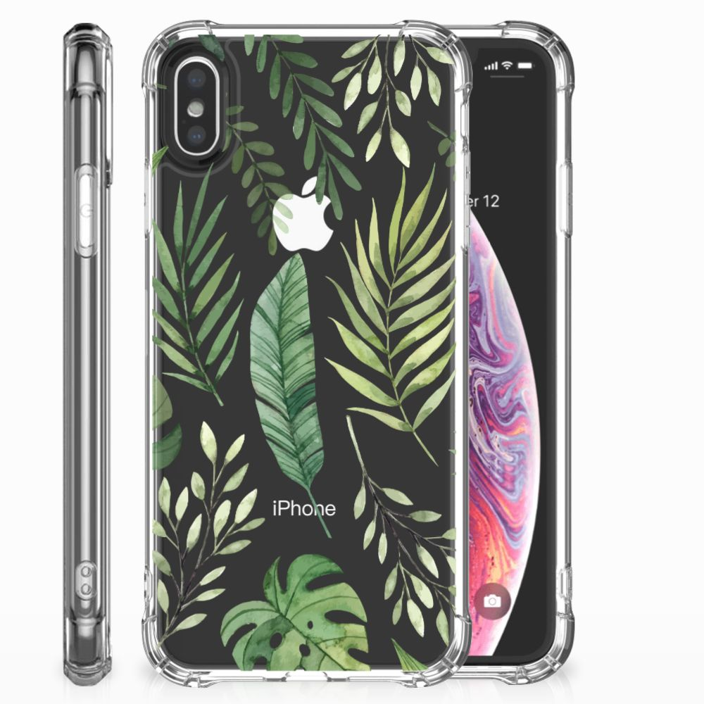 Apple iPhone X | Xs Case Leaves