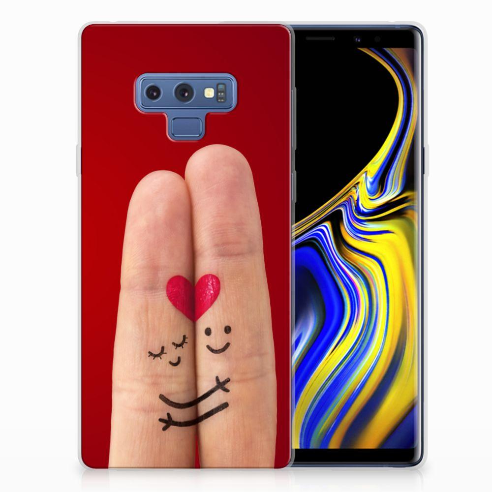 Samsung Galaxy Note 9 Silicone Back Cover Liefde