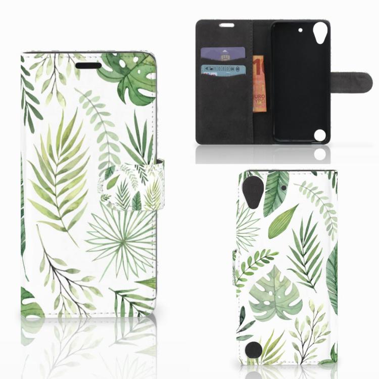 HTC Desire 530 Hoesje Leaves