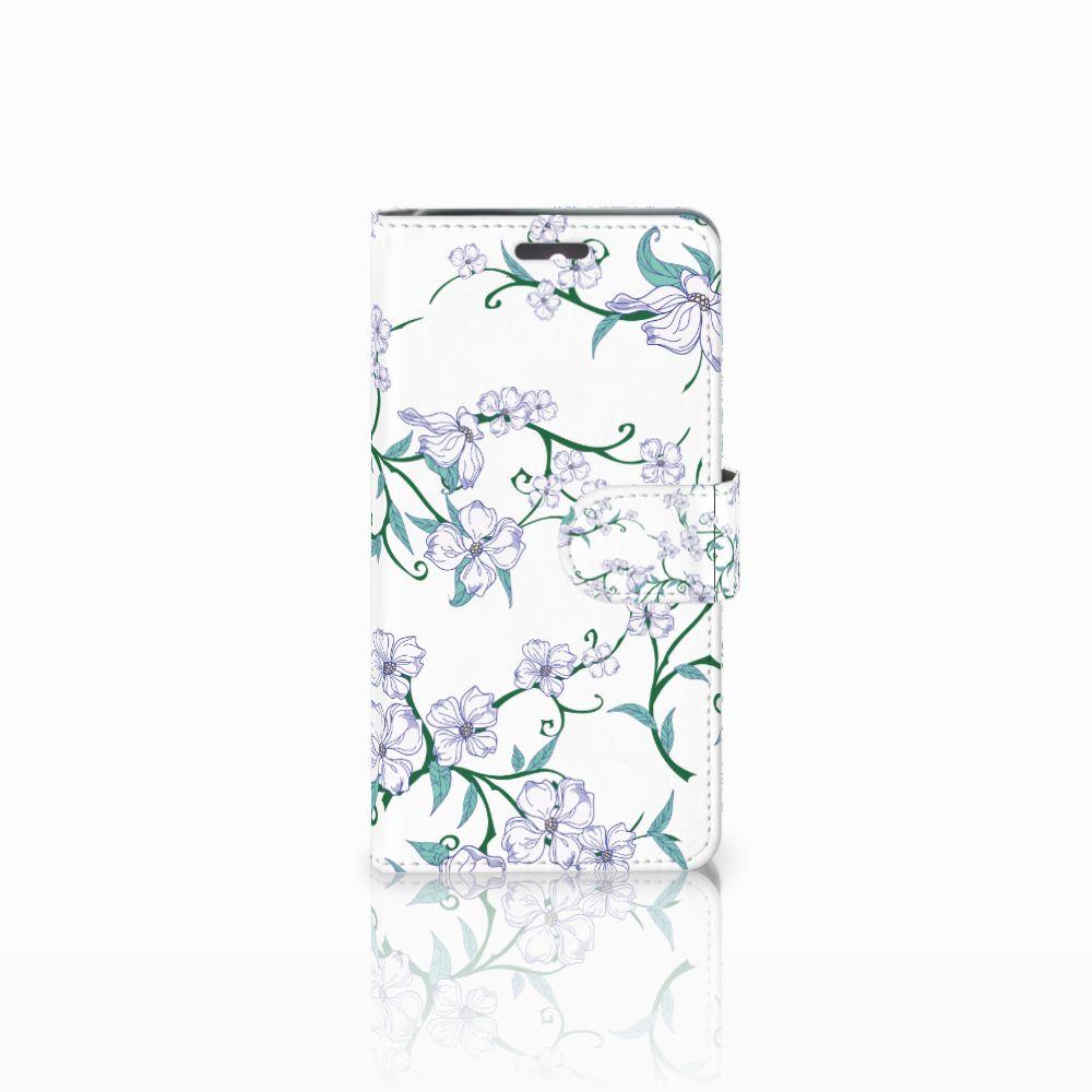 Lenovo K6 Uniek Boekhoesje Blossom White