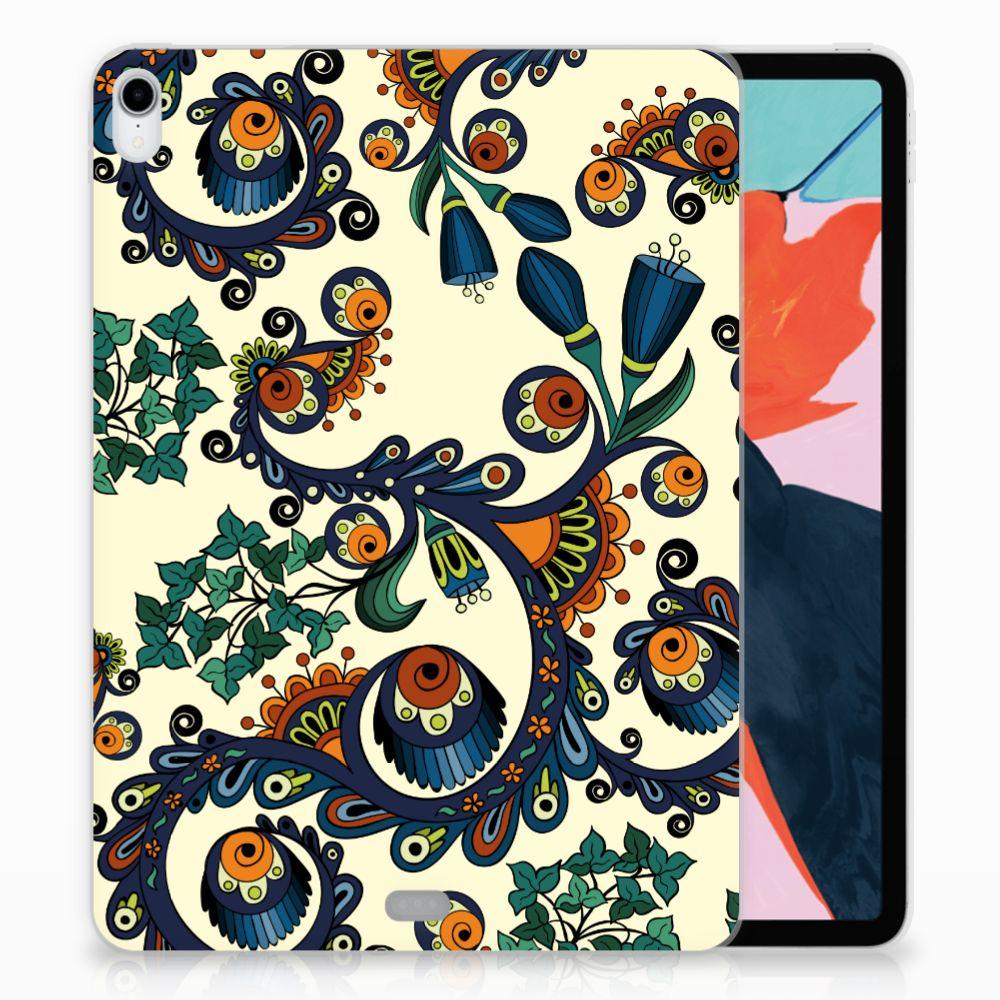 Apple iPad Pro 11 inch (2018) TPU Hoesje Design Barok Flower