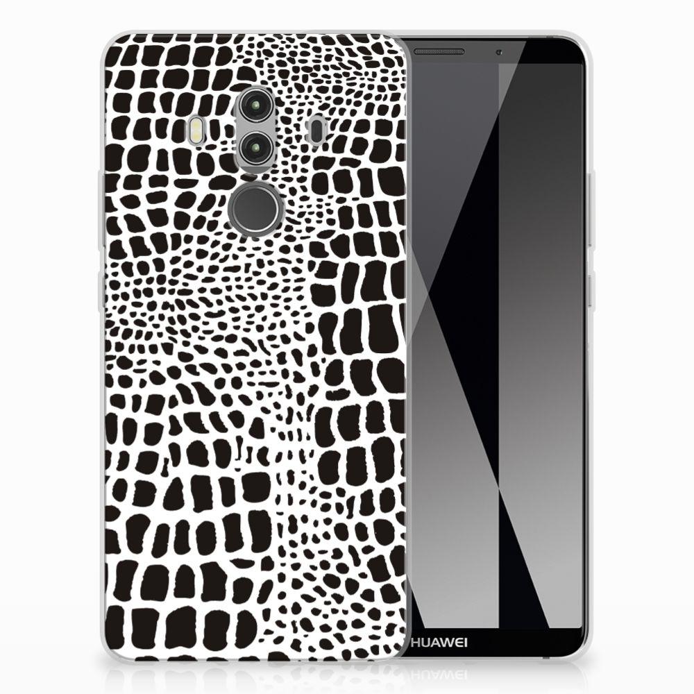 Huawei Mate 10 Pro TPU Hoesje Slangenprint