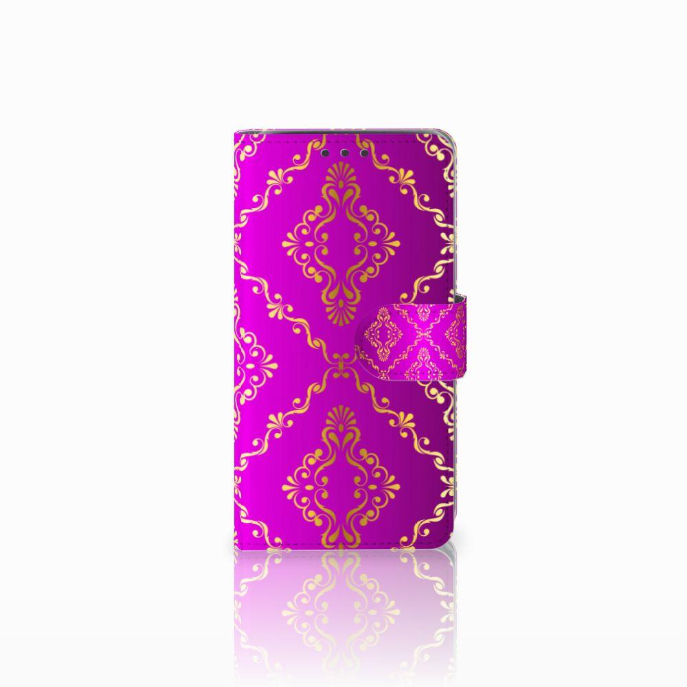 Wallet Case Samsung Galaxy J5 (2015) Barok Roze