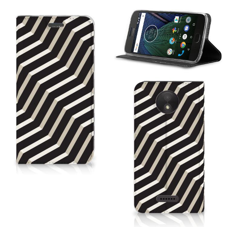 Motorola Moto C Plus Stand Case Illusion