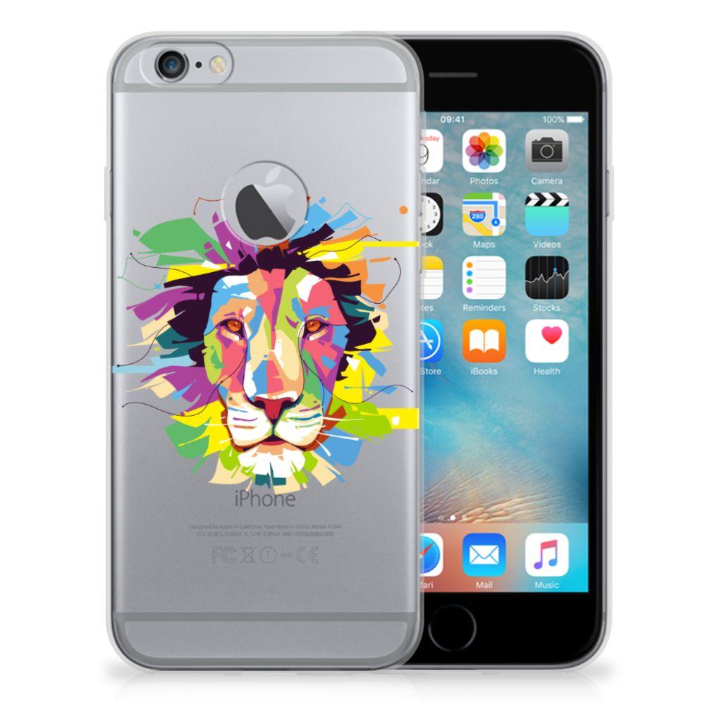 Apple iPhone 6 Plus | 6s Plus Telefoonhoesje met Naam Lion Color
