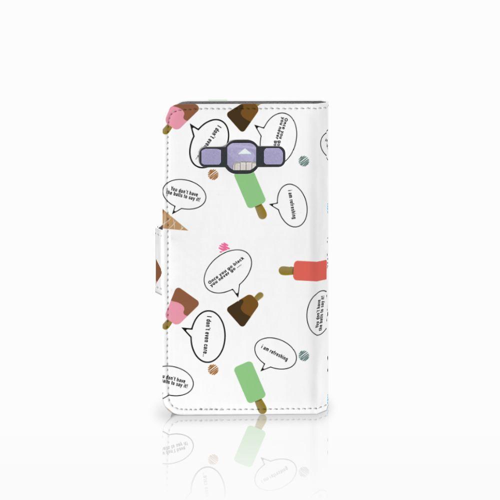 Samsung Galaxy A3 2015 Book Cover IJsjes