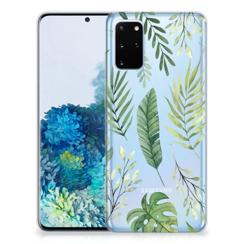 Samsung Galaxy S20 Plus TPU Case Leaves