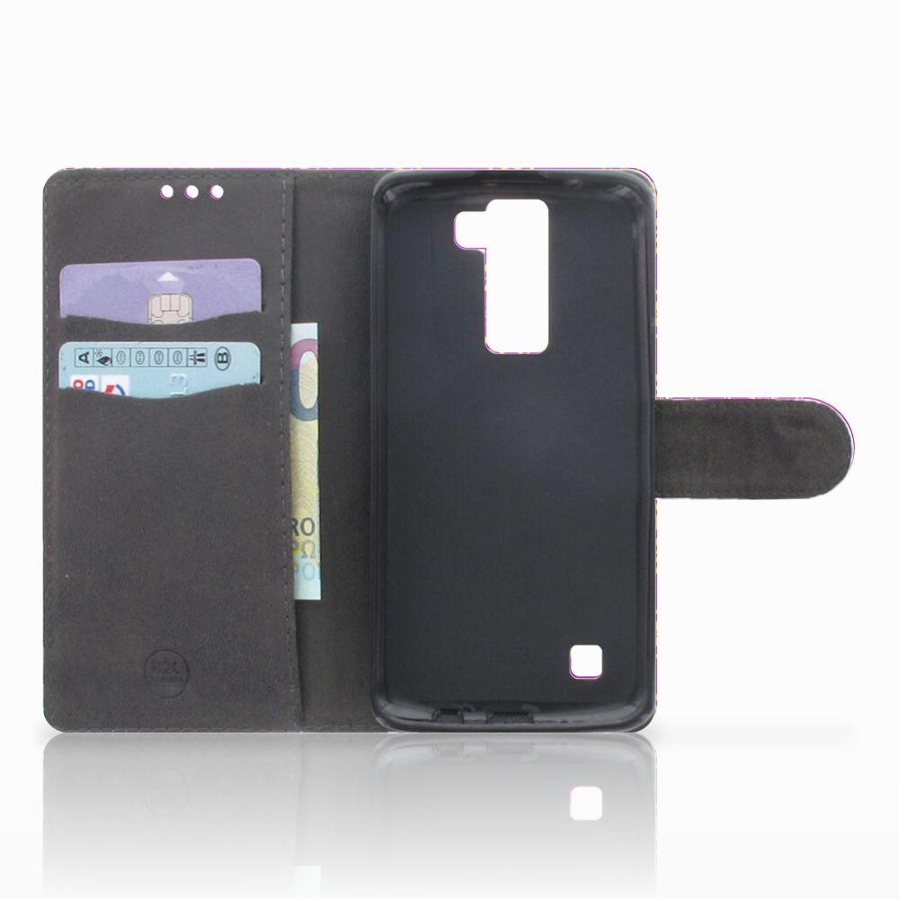 Wallet Case LG K8 Barok Roze