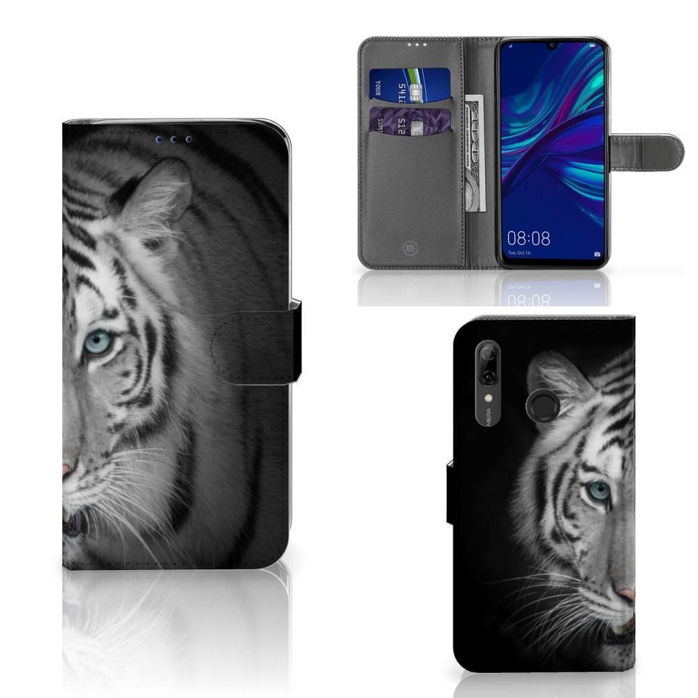 Huawei P Smart Plus (2019) Telefoonhoesje met Pasjes Tijger