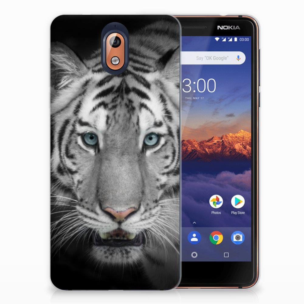 Nokia 3.1 (2018) Uniek TPU Hoesje Tijger