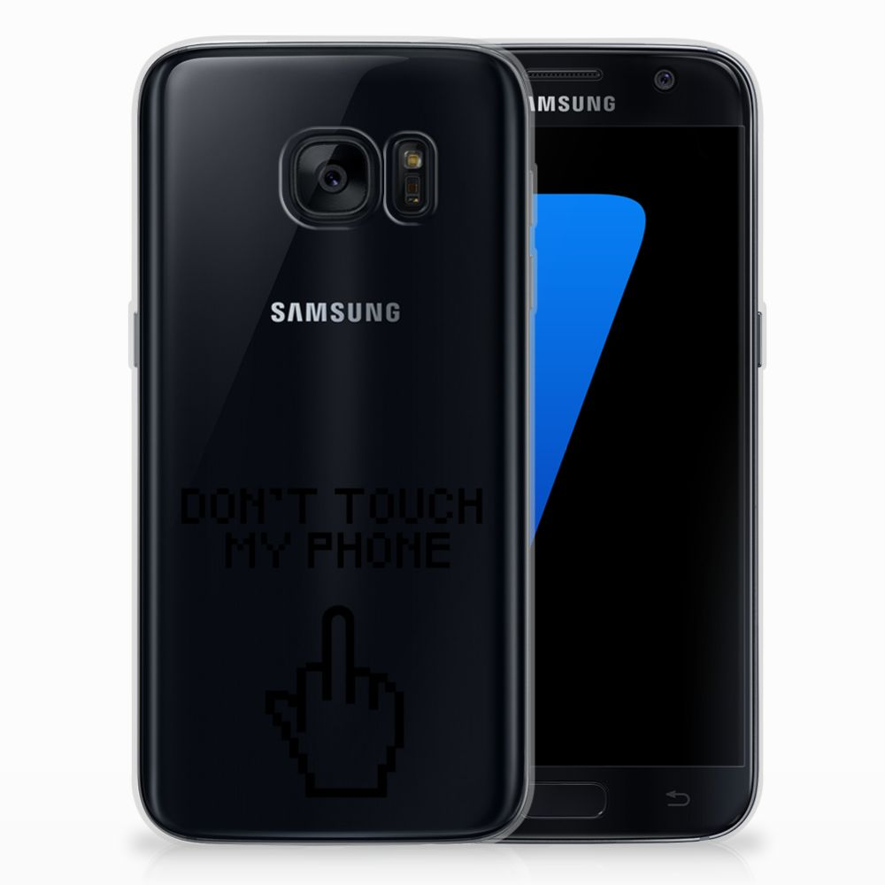 Samsung Galaxy S7 Silicone-hoesje Finger DTMP