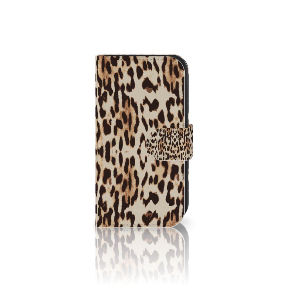 Samsung Galaxy Ace 4 4G (G357-FZ) Uniek Boekhoesje Leopard