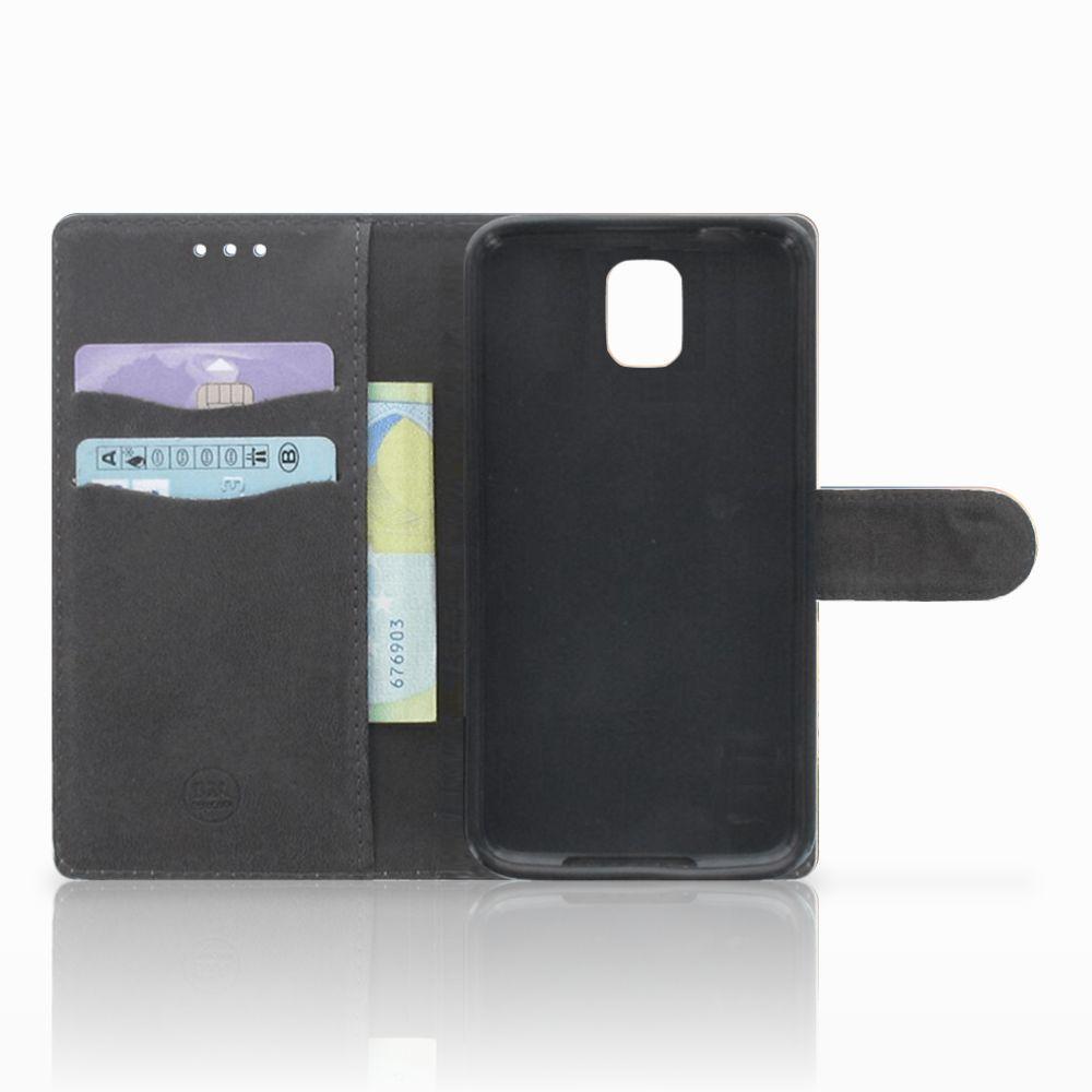 Samsung Galaxy Note 3 Telefoonhoesje met Pasjes Koe