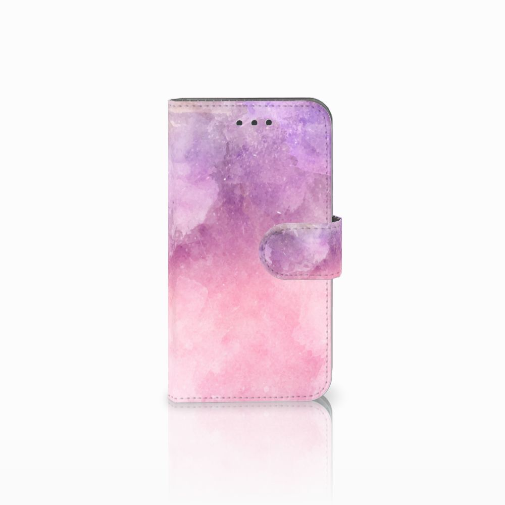 Samsung Galaxy Xcover 3 | Xcover 3 VE Boekhoesje Design Pink Purple Paint