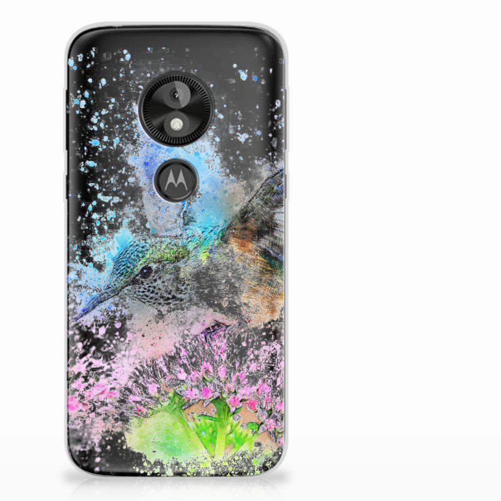 Motorola Moto E5 Play TPU Hoesje Design Vogel