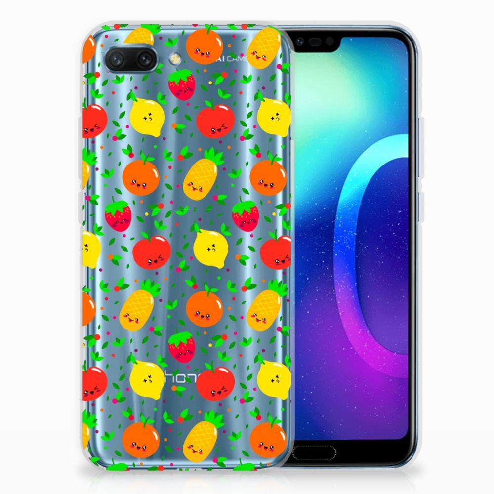 Huawei Honor 10 Siliconen Case Fruits