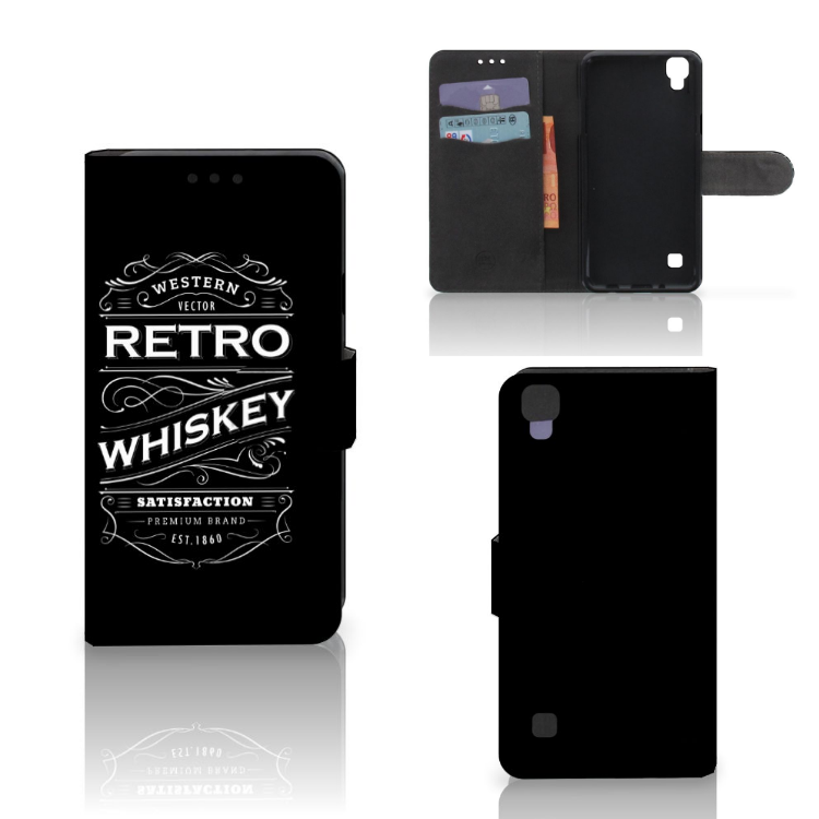LG X Style Book Cover Whiskey
