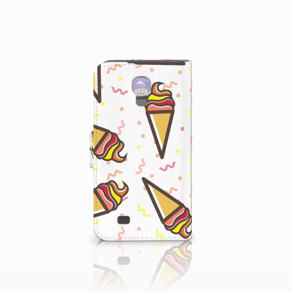 Samsung Galaxy S4 Book Cover Icecream