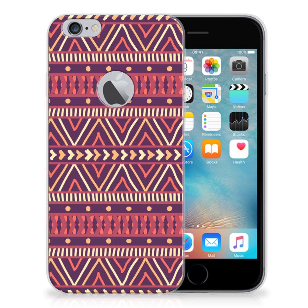 Apple iPhone 6 Plus | 6s Plus TPU bumper Aztec Paars