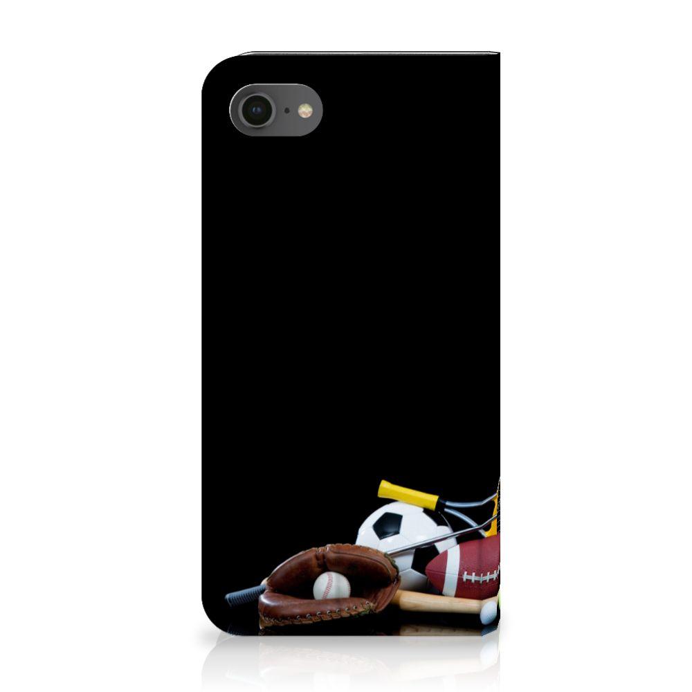 Apple iPhone 7 | 8 Standcase Hoesje Design Sports