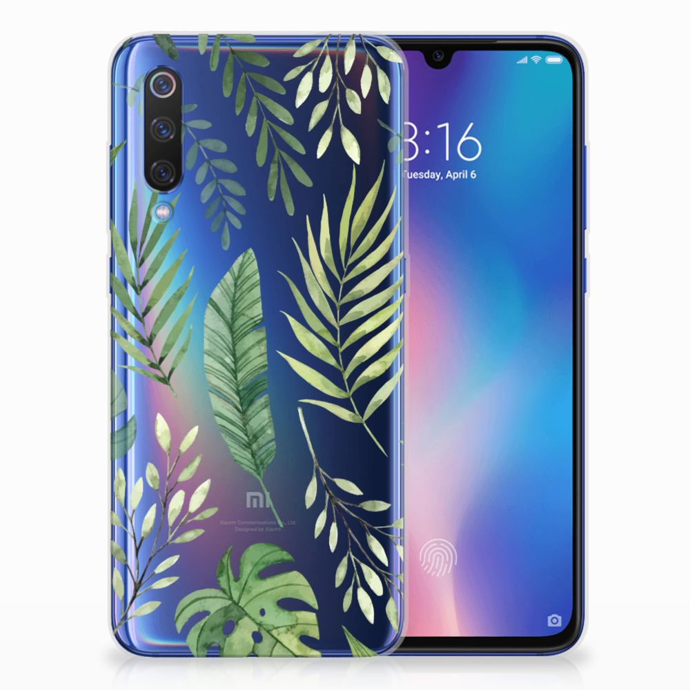 Xiaomi Mi 9 TPU Case Leaves