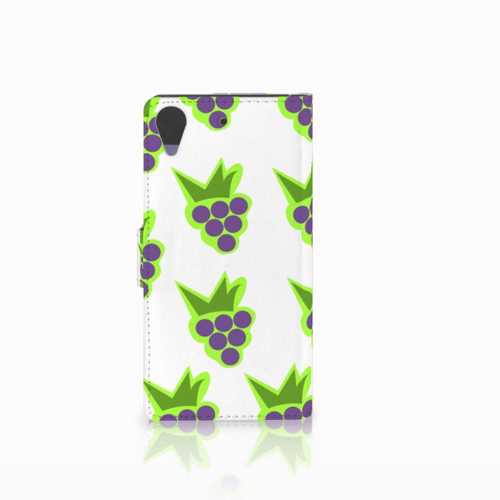 HTC Desire 628 Book Cover Druiven