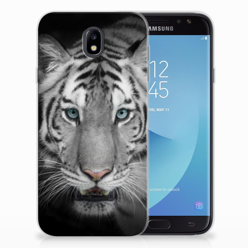 Samsung Galaxy J7 2017 | J7 Pro Uniek TPU Hoesje Tijger