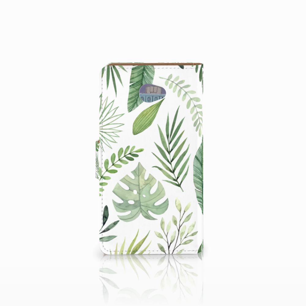 HTC Desire 601 Hoesje Leaves