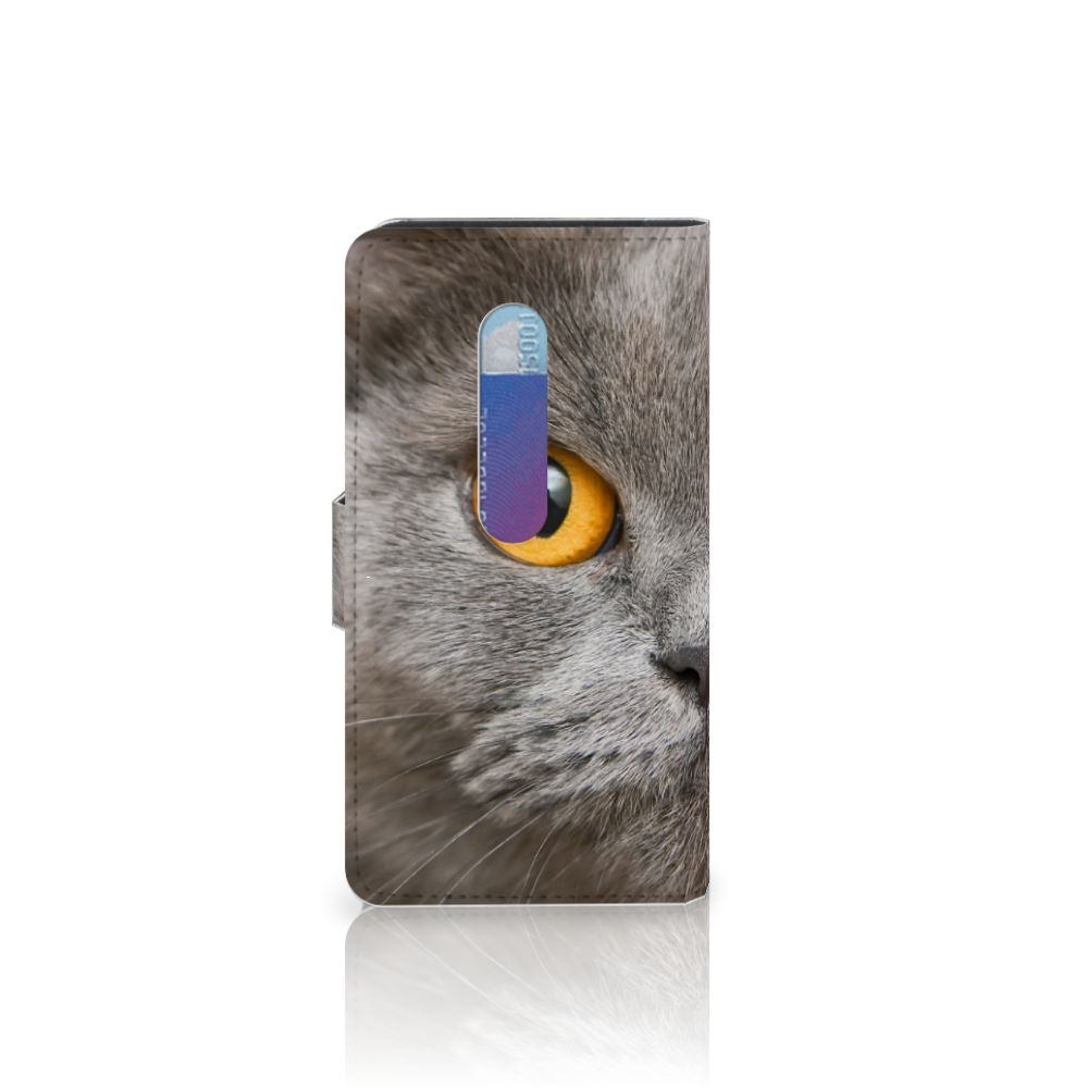Telefoonhoesje met Pasjes Motorola Moto G 3e Generatie Britse Korthaar