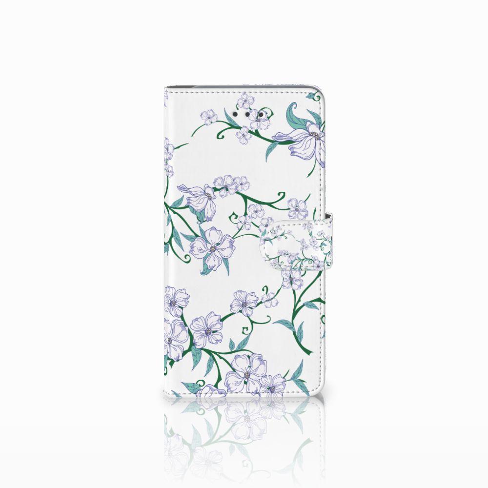 Samsung Galaxy J7 (2018) Uniek Boekhoesje Blossom White