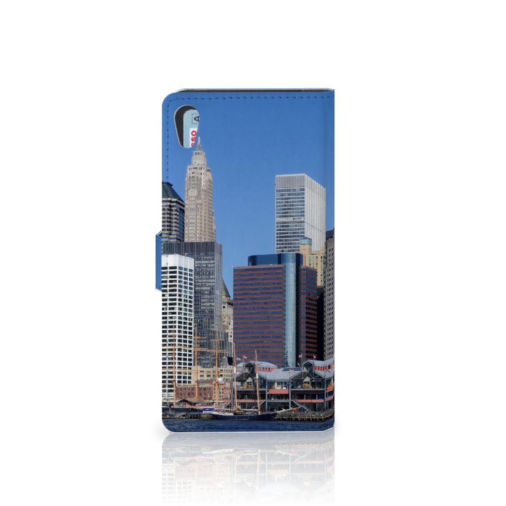 Sony Xperia XA1 Ultra Flip Cover Vrijheidsbeeld