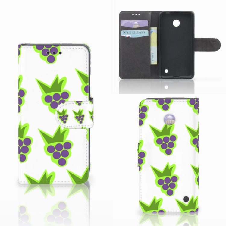 Nokia Lumia 630 Book Cover Druiven