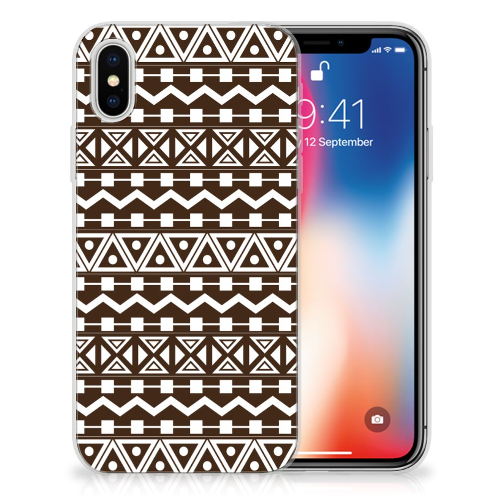 Apple iPhone X | Xs TPU bumper Aztec Brown