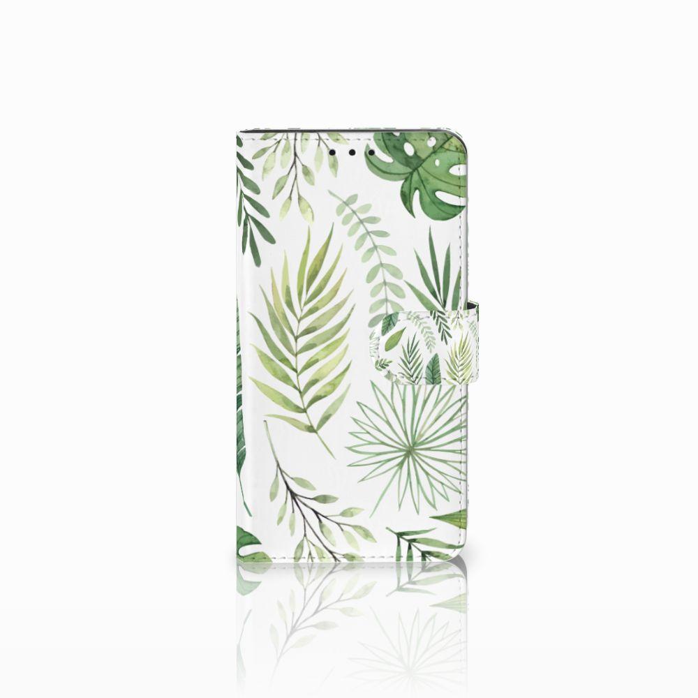 Huawei Honor 6X Uniek Boekhoesje Leaves