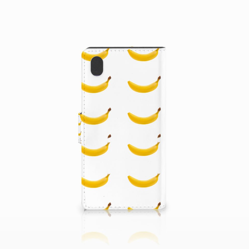 Sony Xperia M4 Aqua Book Cover Banana