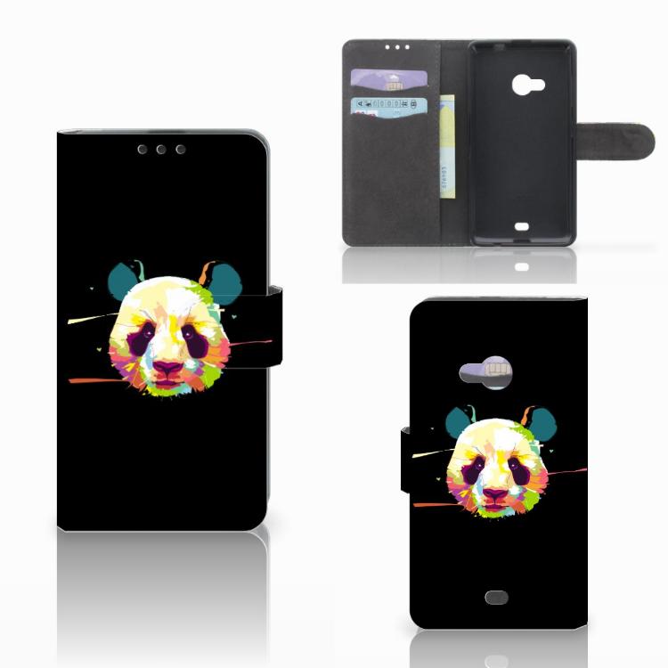 Microsoft Lumia 535 Leuk Hoesje Panda Color