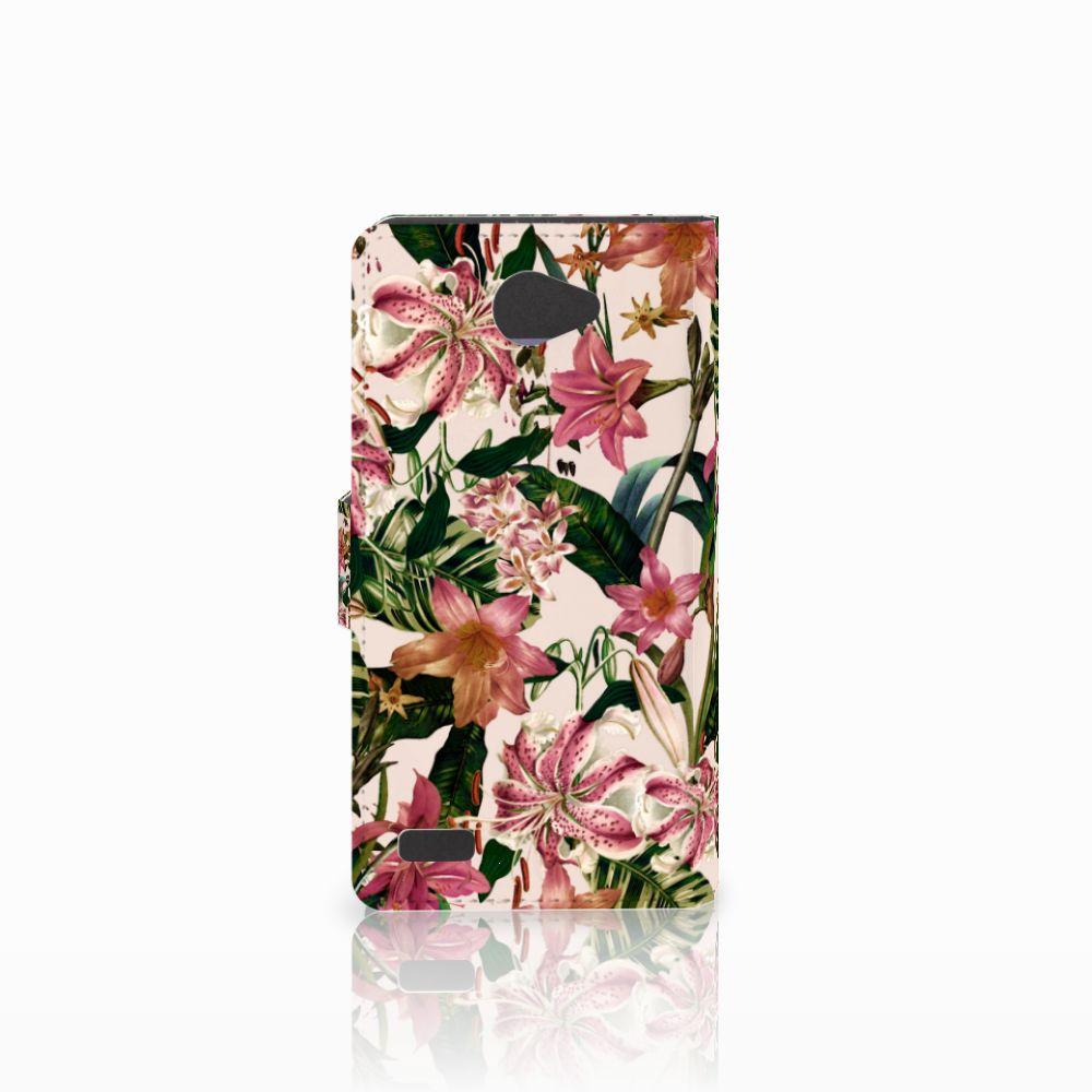 LG Bello 2 Hoesje Flowers