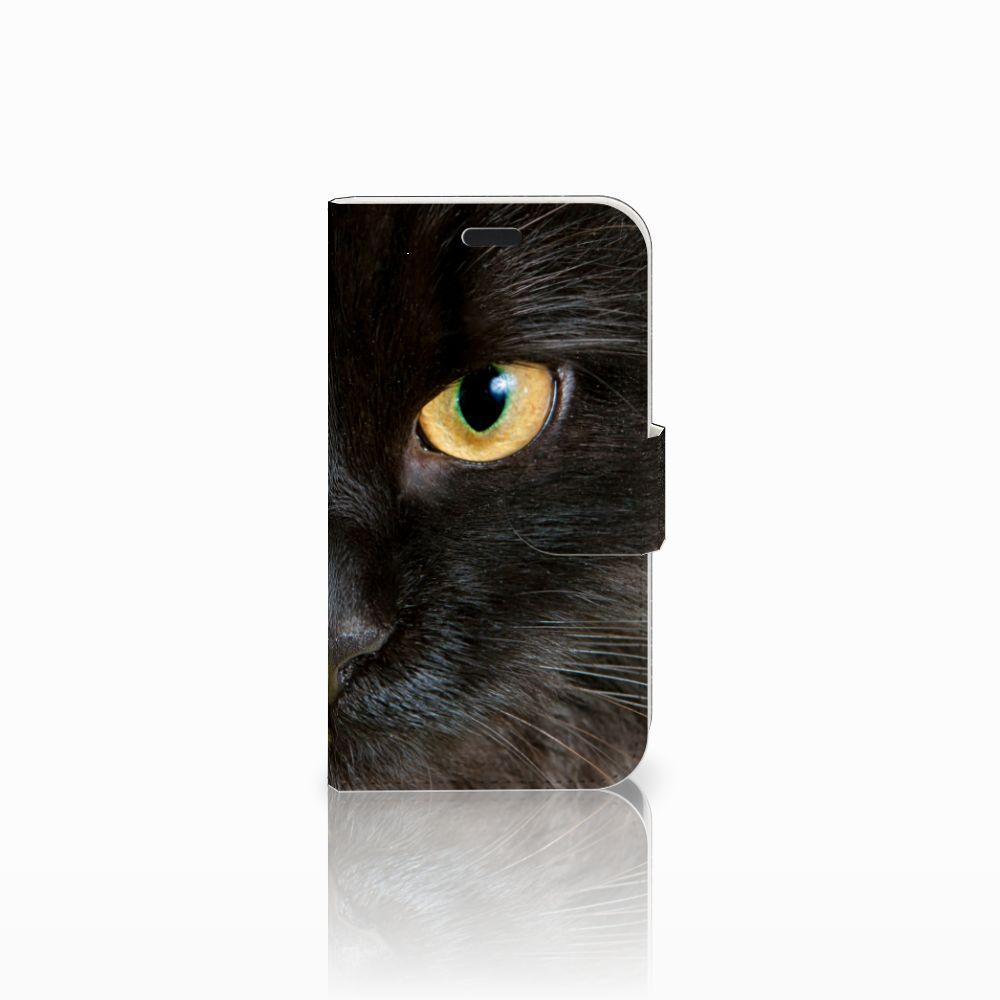 LG L Fino Uniek Boekhoesje Zwarte Kat