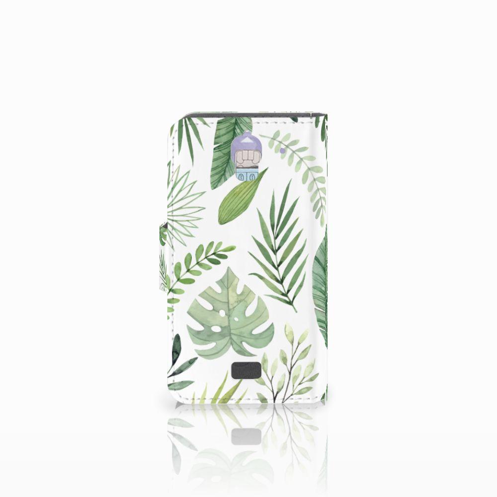 Huawei Y360 Hoesje Leaves