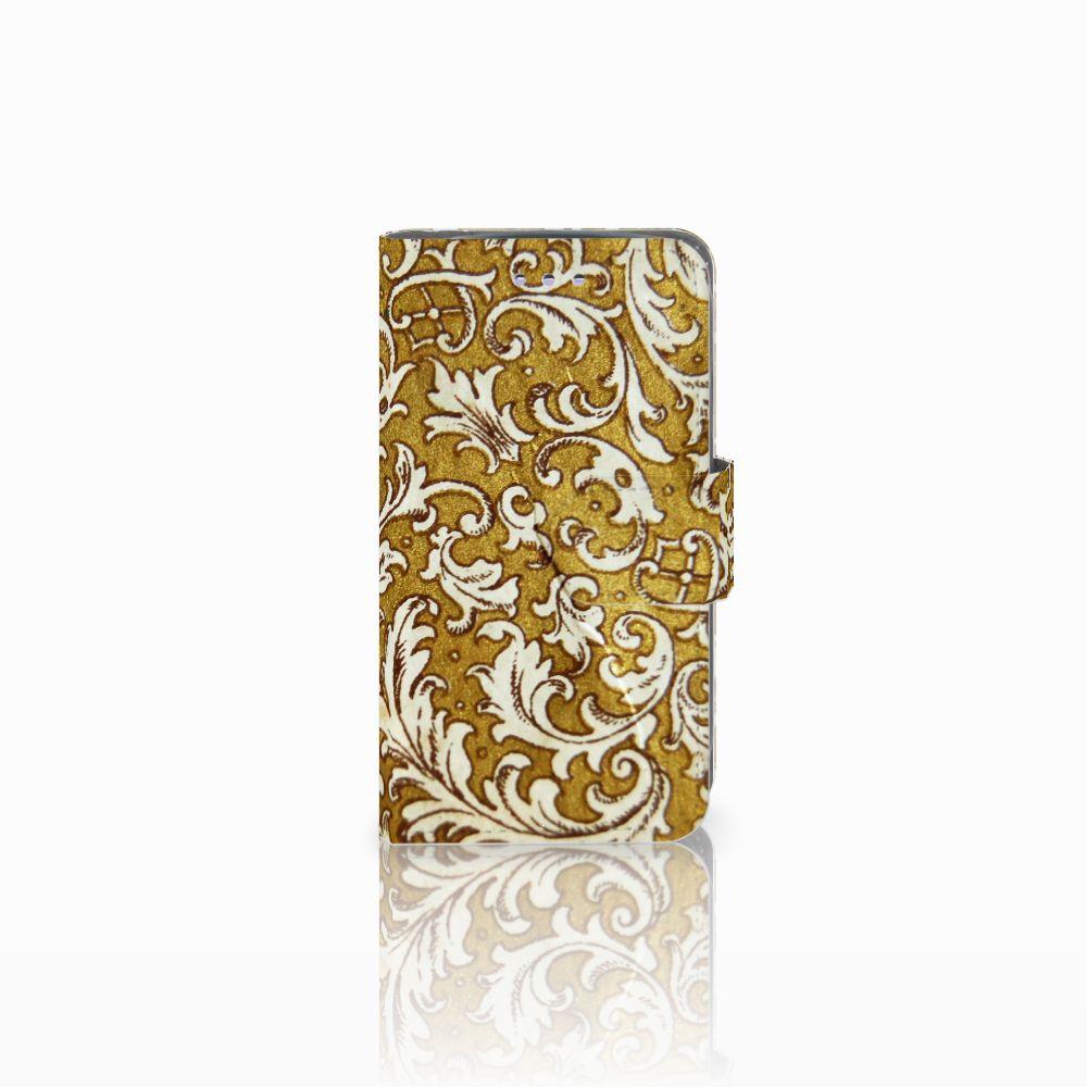 Samsung Galaxy S3 Mini Boekhoesje Design Barok Goud