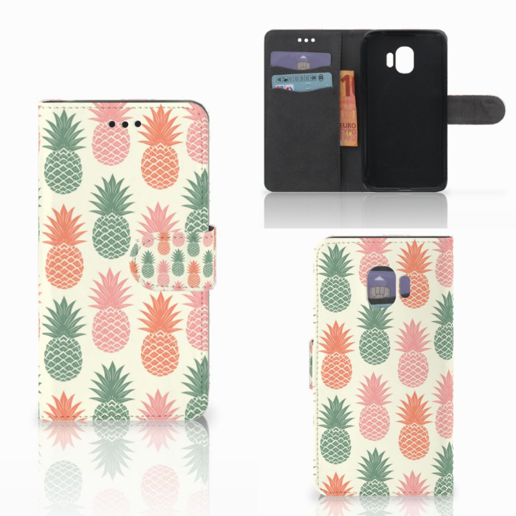 Samsung Galaxy J2 Pro 2018 Book Cover Ananas